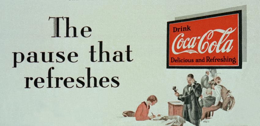 Реклама кока колы