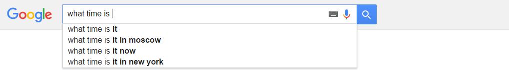 Поиск в Google на английском