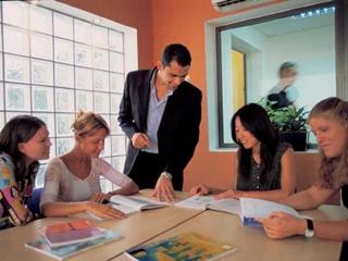 Изучение иностранного языка на курсах