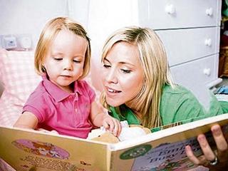Мама учить дочку