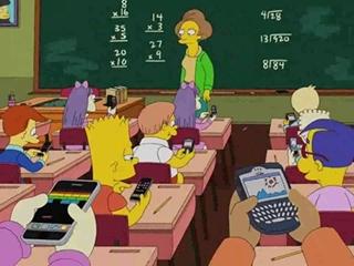 Урок в сериале Симпсоны