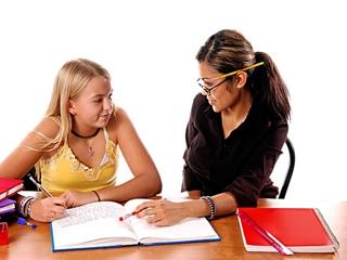 Работа с преподавателем над сложной темой