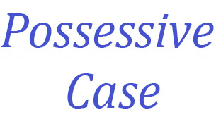possessive case