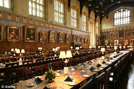 Завтрак в Оксфордском университете