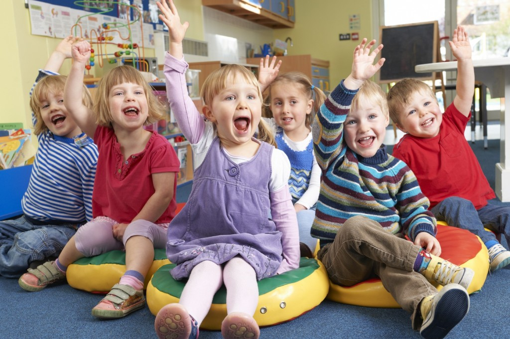 английский в детском саду