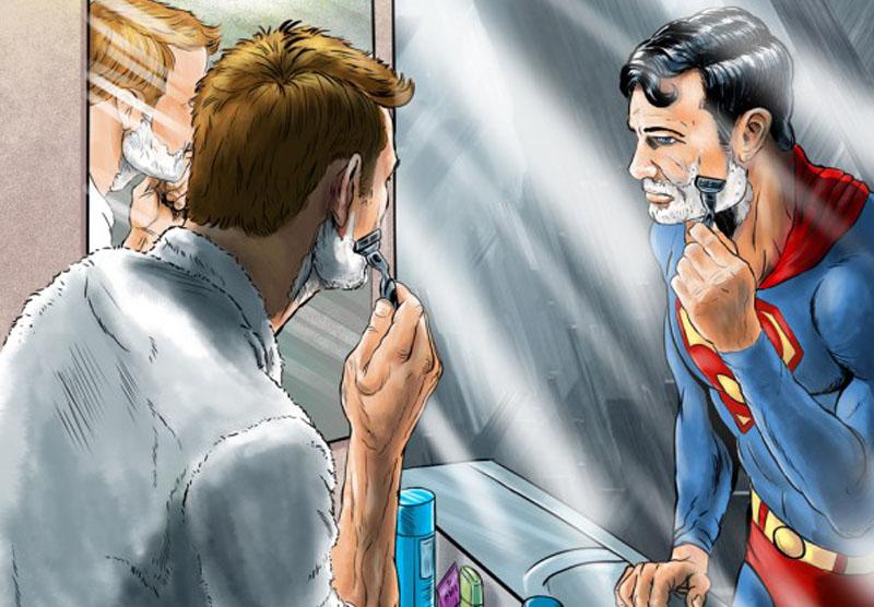герой в зеркале