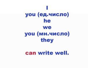 модальные вспомогательные глаголы