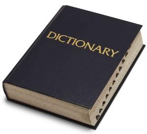 печатный словарь английского языка