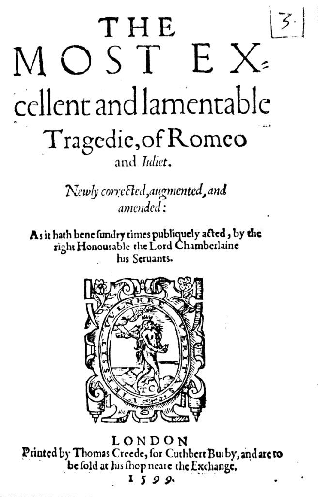 Книга Ромео и Джульета