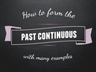 past-continuous