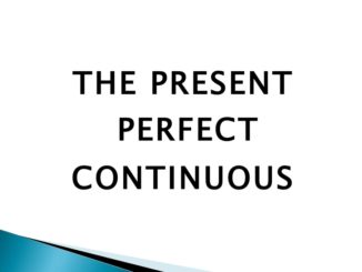 present-perfect-continuous
